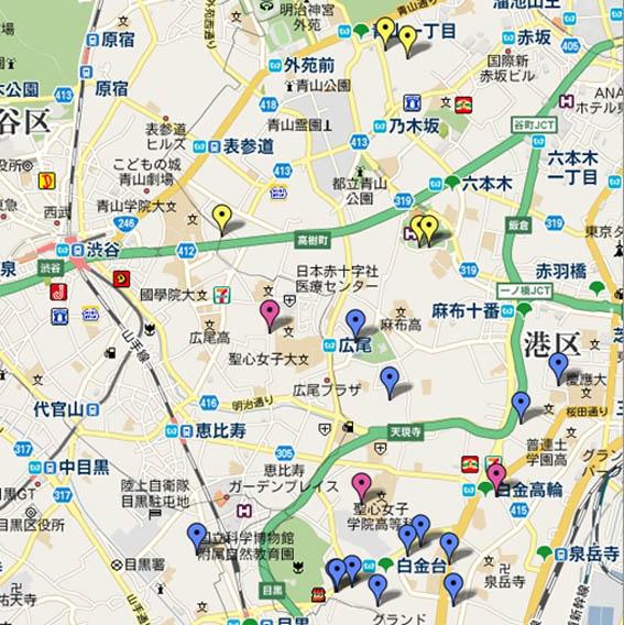 港区のリフォームマップ