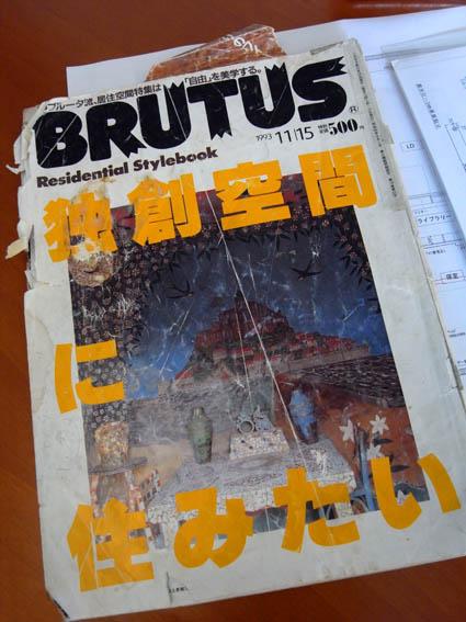 BRUTUS(ブルータス)独創空間に住みたい