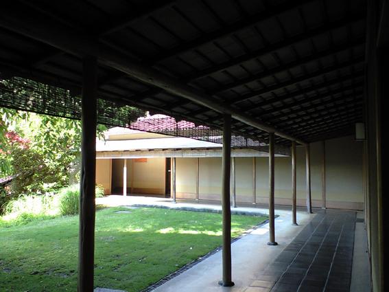 伊豆山蓬莱中庭
