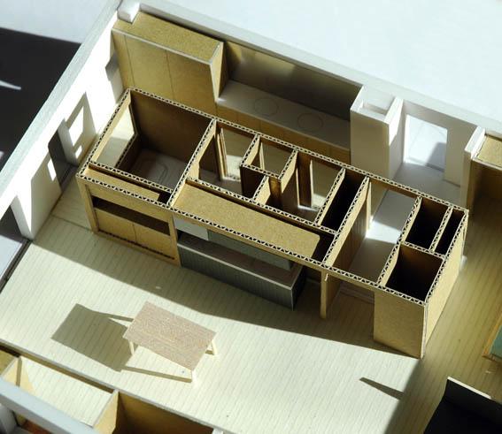 麻布のマンションリフォーム模型