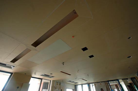 天井ボード張り