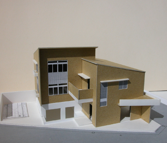 住宅のプレゼン模型
