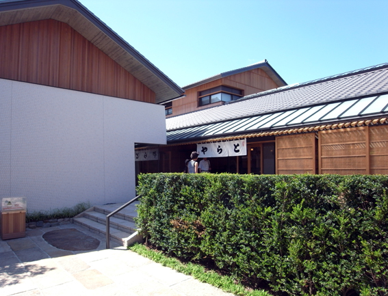 京都とらや菓寮 アプローチ
