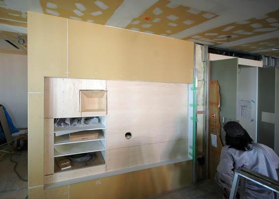 テレビ・オーディオ収納棚