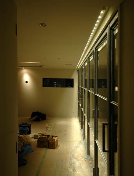 LEDのライン照明
