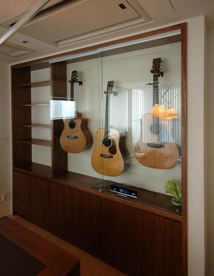 ギターコレクションの展示