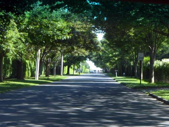 ハンプトンの街並み