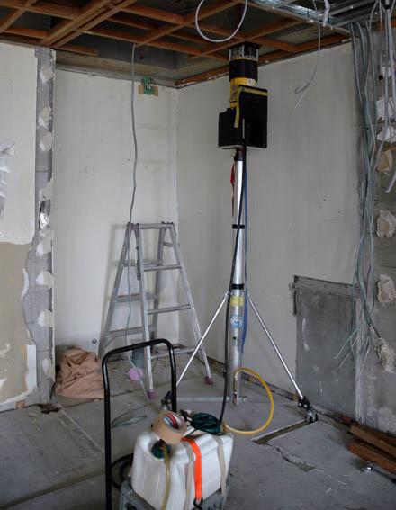RC壁のレントゲン撮影