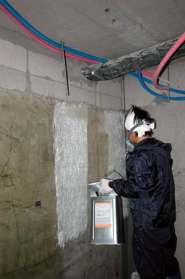 FRP防水の施工