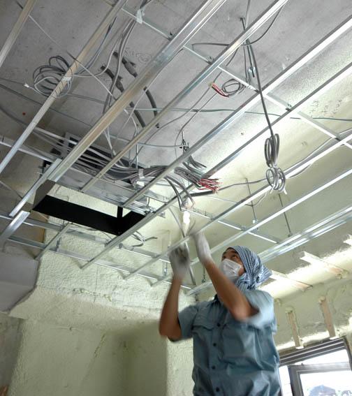 照明用電気配線工事