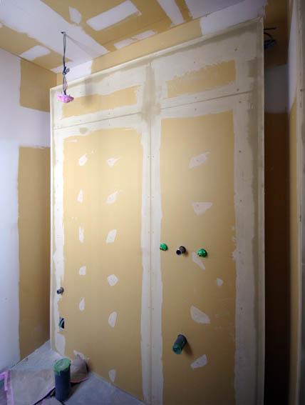 トイレの浮き壁