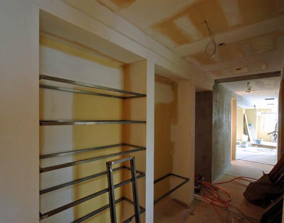 塗装塗り込み本棚の下地作り