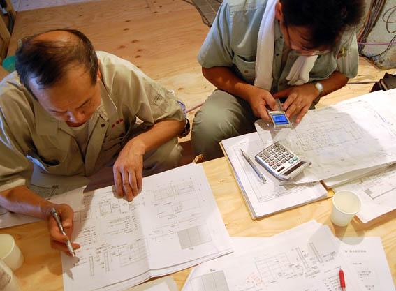 造作家具・建具打合せ@神戸M邸