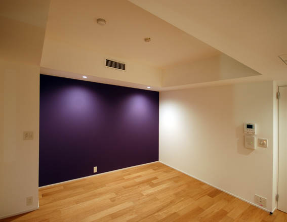 寝室完成写真