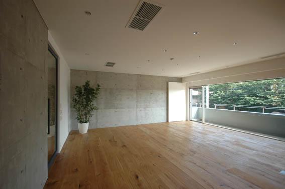 リビング竣工写真 浜田山マンションリノベーションS邸