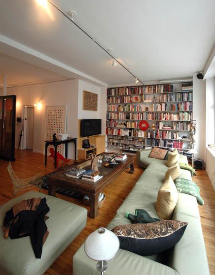 ニューヨーク アートコレクターのリノベーション