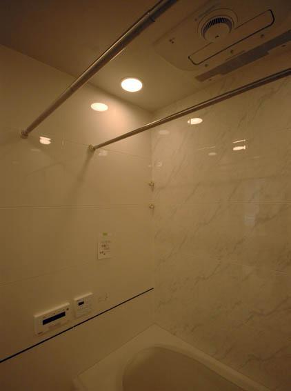 浴室のミストサウナ@赤坂M邸現場