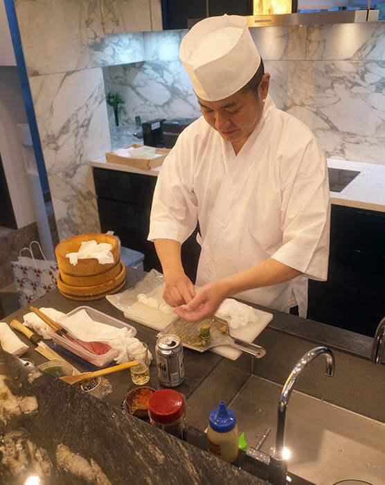 竣工祝いお寿司パーティー@港区R邸