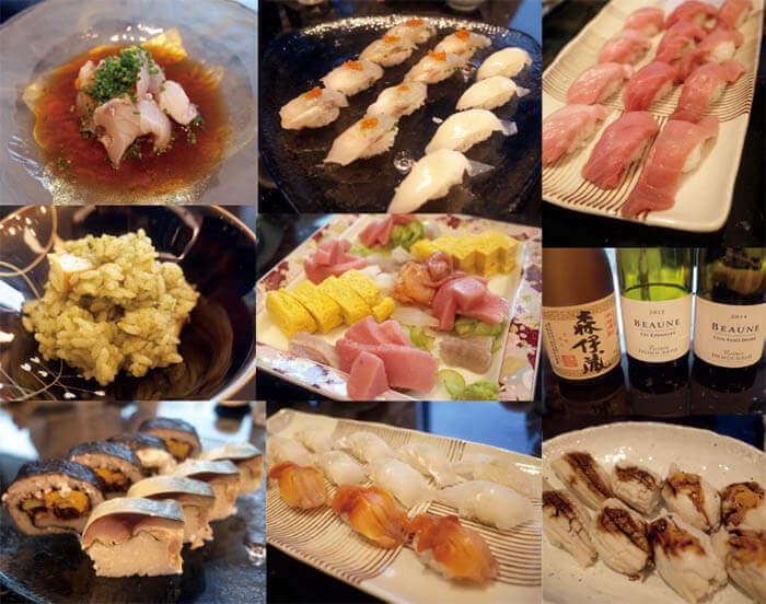 リノベーション竣工祝いのお寿司パーティー