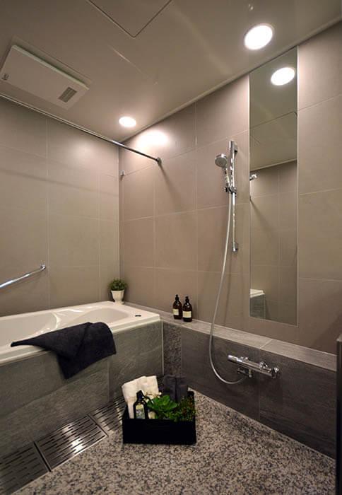青山ザ・タワー_浴室リノベーション