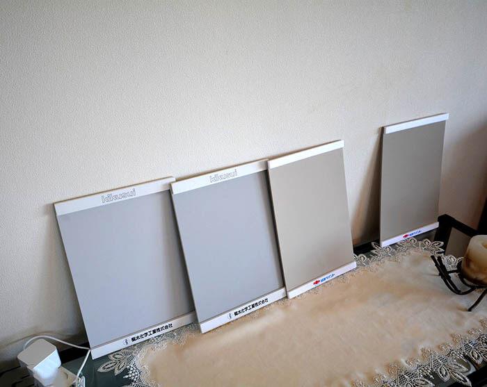グレー色の塗装サンプル