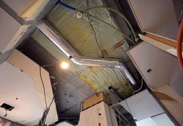 品川のペントハウスマンションリフォーム解体工事
