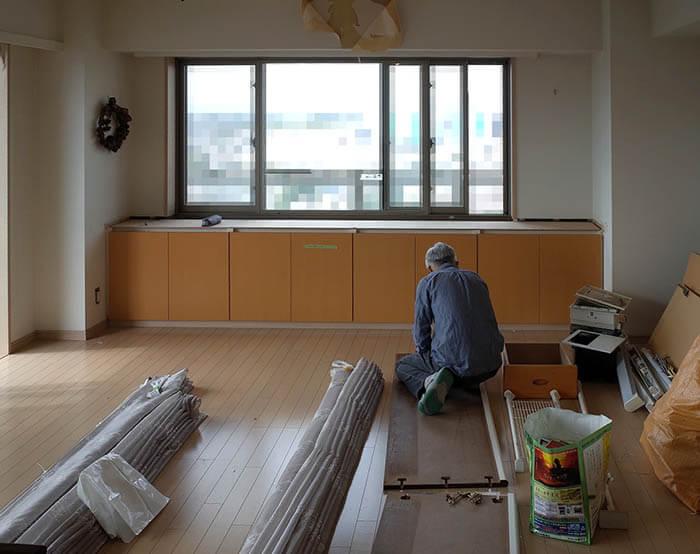 品川N邸解体開始