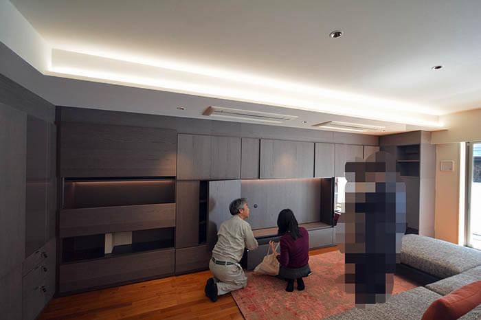 テレビ配線の仕組みの説明