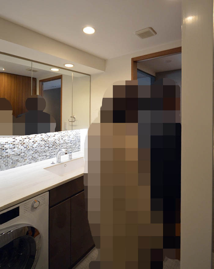 洗面所の取り扱い説明