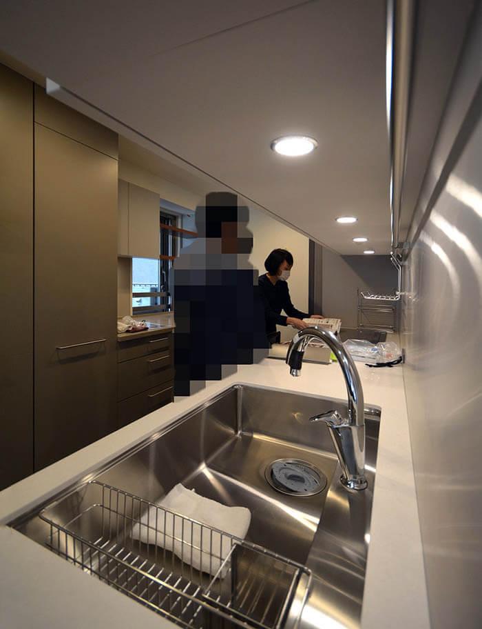 リブコンテンツのオーダーキッチンの取り扱い説明
