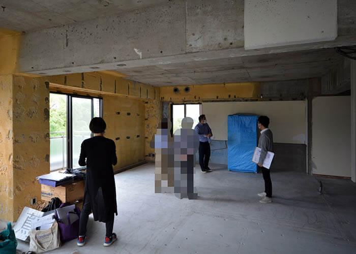 スケルトン状態からのリフォーム_千代田区M邸