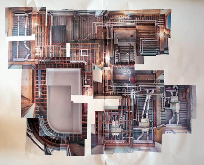 天井裏配管&ダクトの写真記録