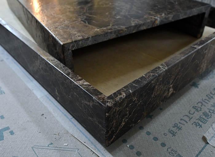 ピール加工のエンペラドール大理石