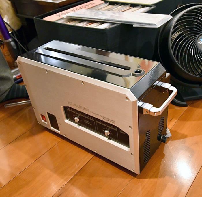 レコード洗浄機