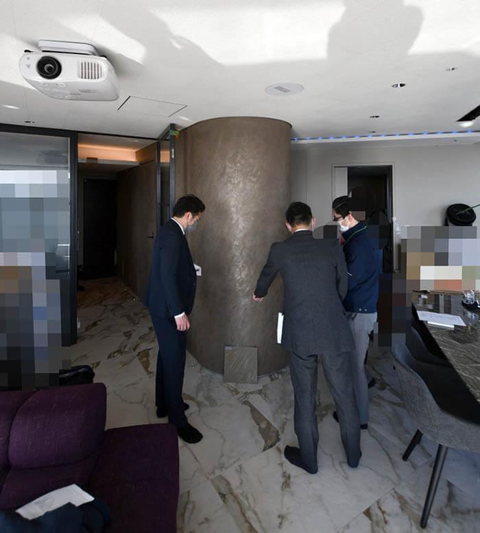 赤坂N邸リフォームの竣工検査